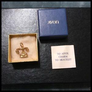 💐2 For $12💐Vintage Avon GoldTone Telephone Charm